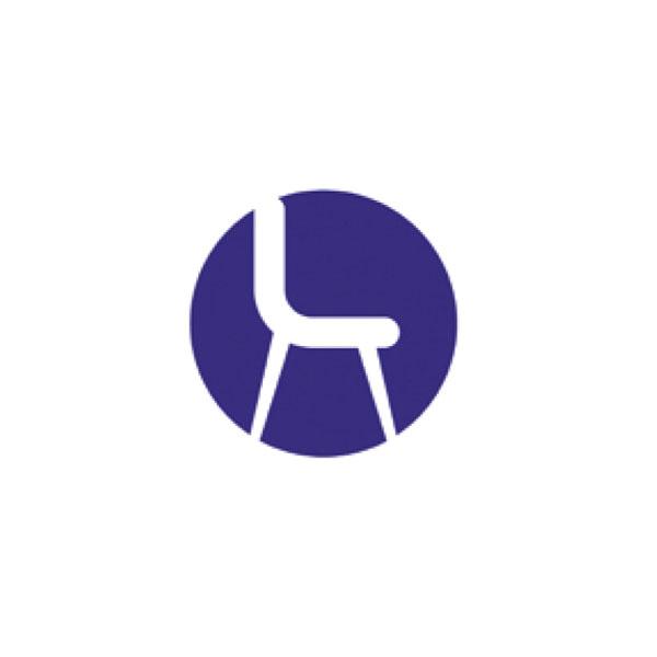 Taburete Adagio-Sofy móvil sin brazos fabricado en polipropileno tapizado 1